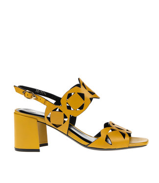 Bruno Premi Bruno Premi elegant sandal yellow leather