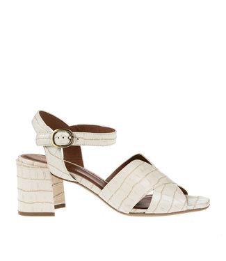 Bruno Premi Bruno Premi block heel sandal beige crocodile print