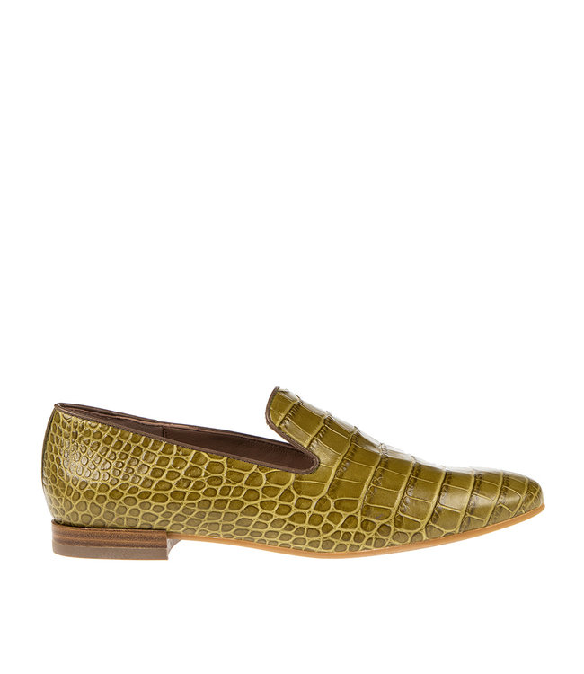Pedro Miralles Pedro Miralles ladies loafer green croco