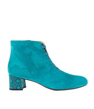 Square Feet Square Feet short zipper boots elastic petrol