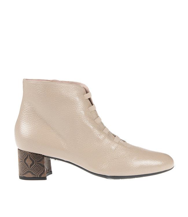 Square Feet Square Feet  korte ritslaars elastiekjes grijs