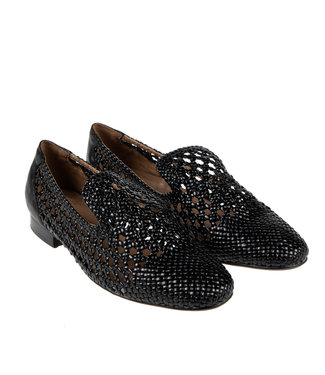 Pedro Miralles Pedro Miralles ladies loafer black interlace