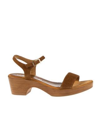 Unisa Unisa sandal Irita brown suede