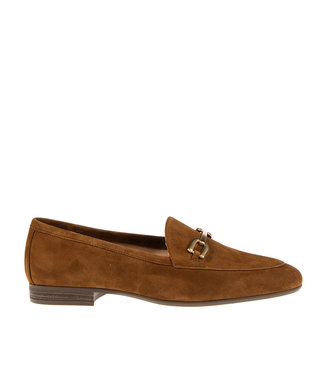 Unisa Unisa Dalcy dames loafer bruin suède