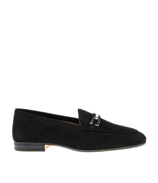 Unisa Unisa Dalcy ladies loafer black suede