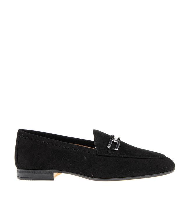 Unisa Unisa Dalcy ladies loafer black suede