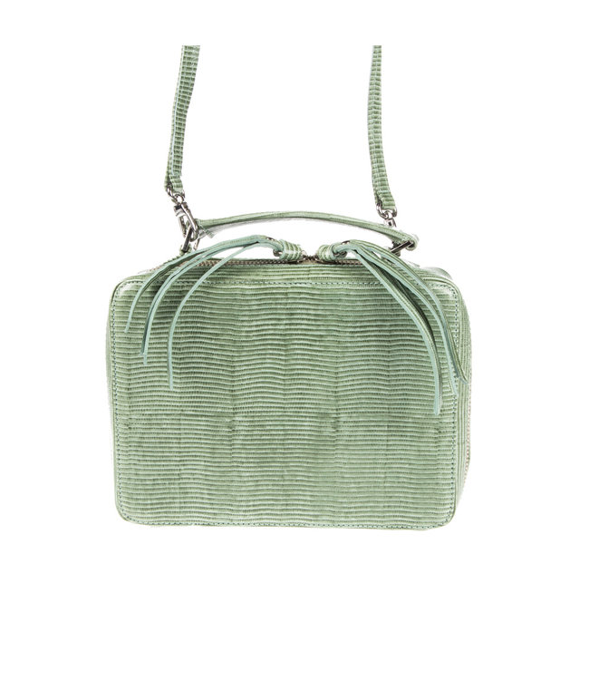 Unisa Unisa Zbele lizard mint ladies shoulder bag