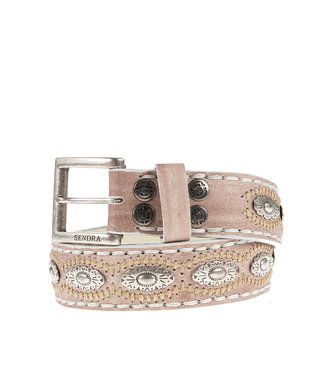 Sendra Sendra Belt 7606 ivory leather