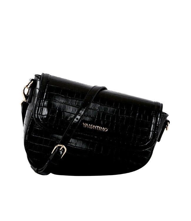 Valentino Valentino Bicorno zwart schoudertas
