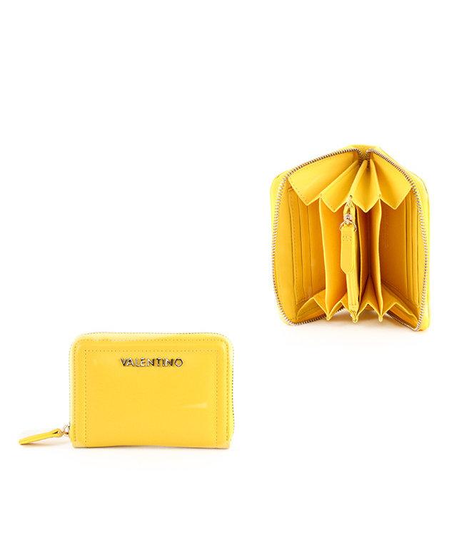 Valentino Valentino Bicorno yellow wallet