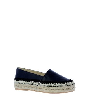 Macarena Macarena espadrilles Elisa black leather