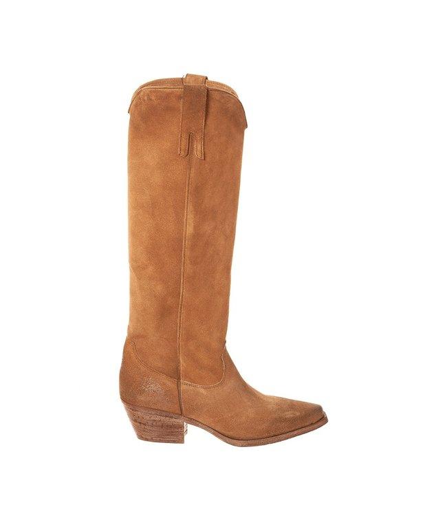 Metisse Metisse ladies boots taupe suede