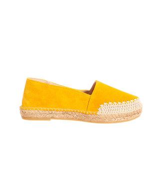 Macarena Macarena espadrilles Mar55 yellow suede
