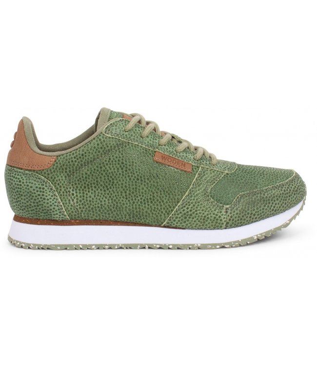 Woden Woden Ydun pearl green ladies sneaker
