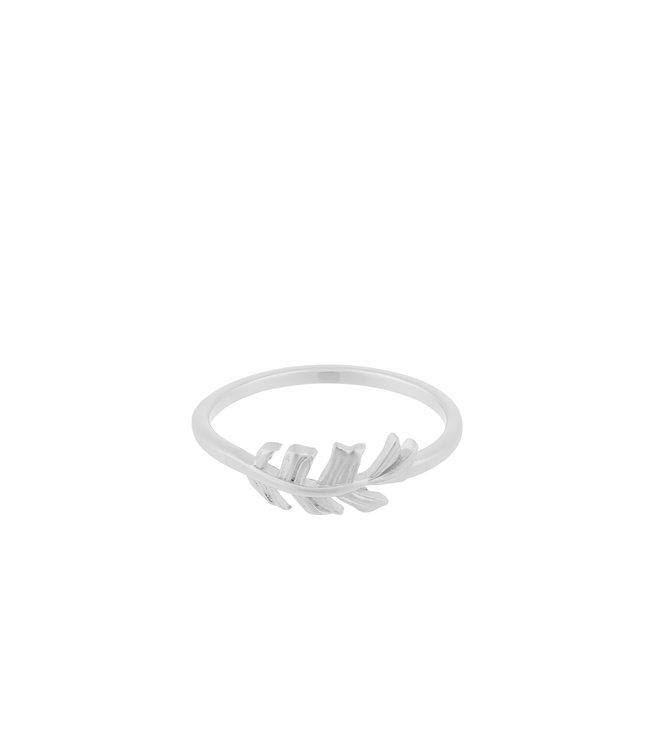 Pernille Corydon Pernille Corydon Leaf ring silver