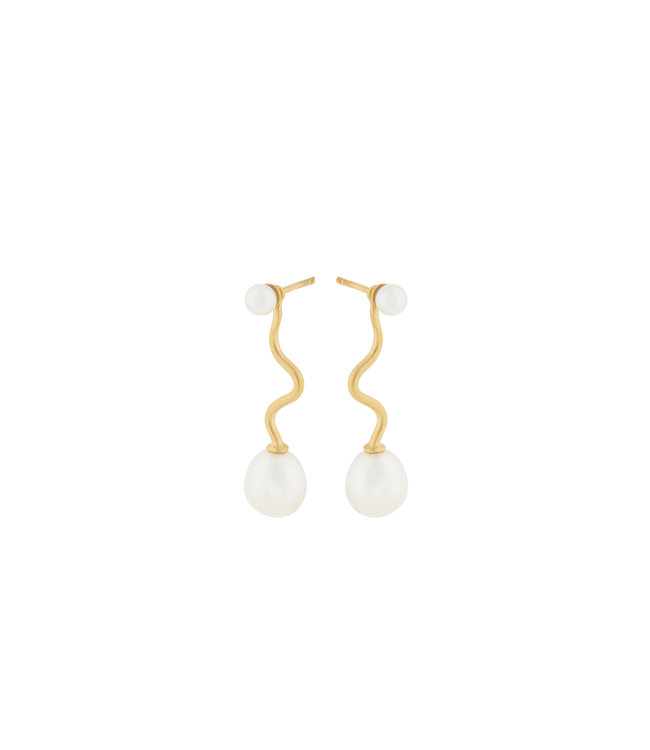 Pernille Corydon Pernille Corydon Lagoon Earrings gold plated