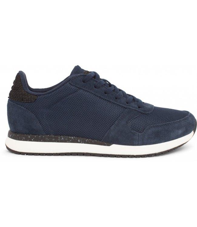 Woden Woden Ydun Fifty  blauw dames sneaker