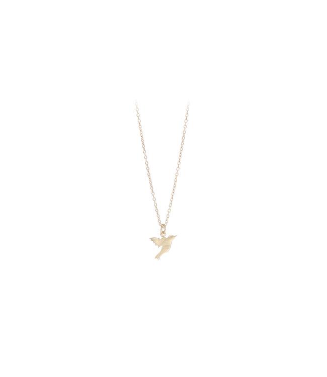 Pernille Corydon Pernille Corydon Hummingbird ketting goud verguld