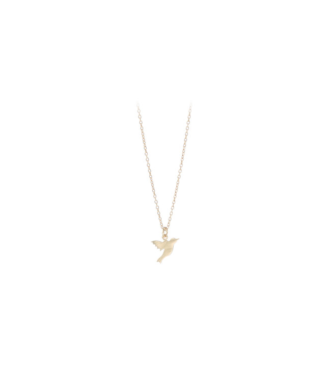 Pernille Corydon Pernille Corydon Hummingbird necklace gold plated