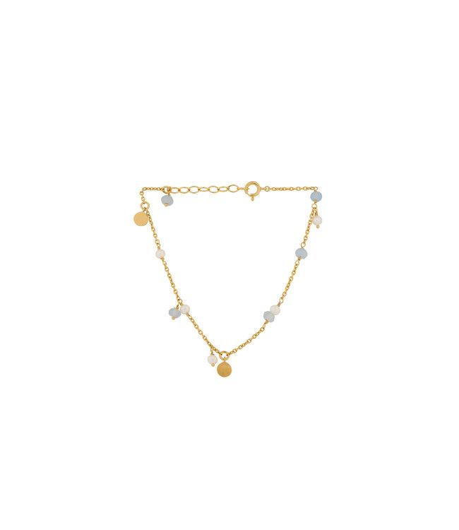 Pernille Corydon Pernille Corydon Afterglow Sea armband goud verguld