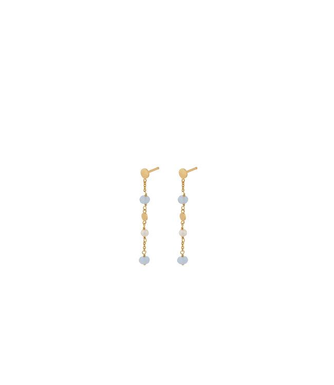 Pernille Corydon Pernille Corydon Afterglow Sea earchains goud verguld