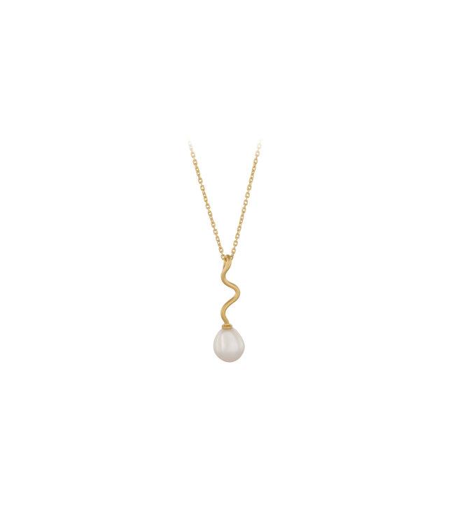 Pernille Corydon Pernille Corydon Bay Necklace gold plated