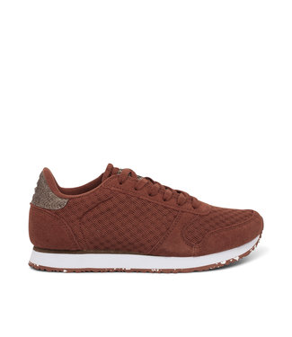 Woden Woden Ydun suede mesh 11 brown ladies sneaker