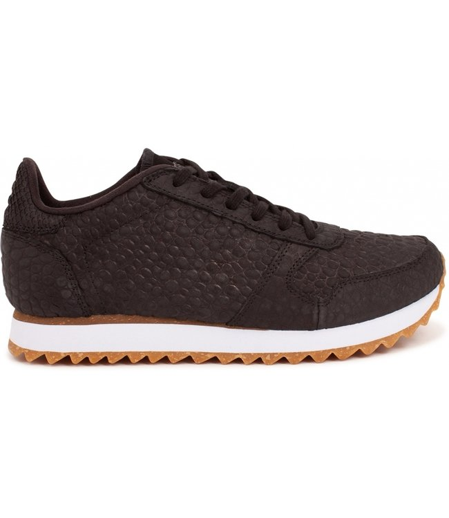 Woden Woden Ydun Croco 11 ladies sneakers black