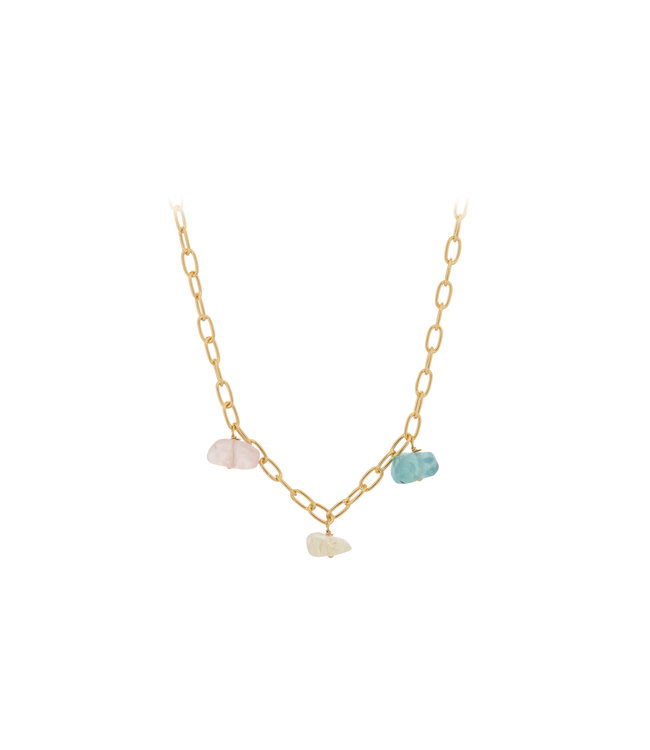 Pernille Corydon Pernille Corydon Aurora necklace gold plated