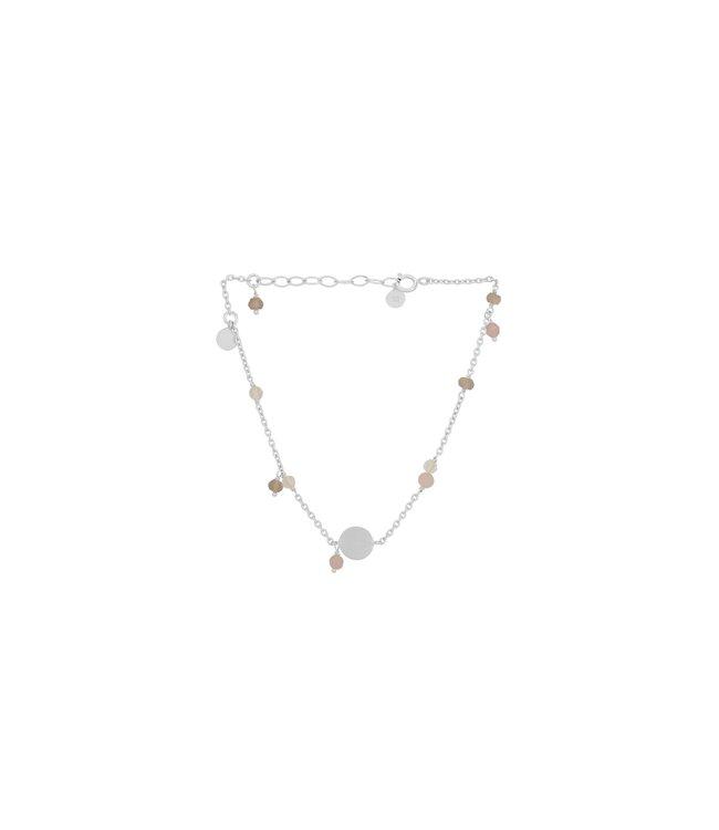 Pernille Corydon Pernille Corydon Afterglow Pastel Bracelet Silver