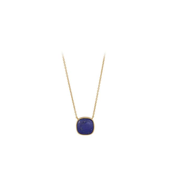 Pernille Corydon Pernille Corydon Lapis Lazuli ketting goud verguld