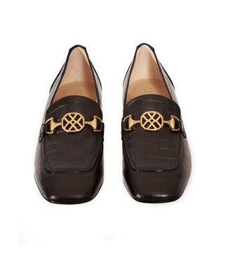 Unisa Unisa Majal ladies loafer black croco