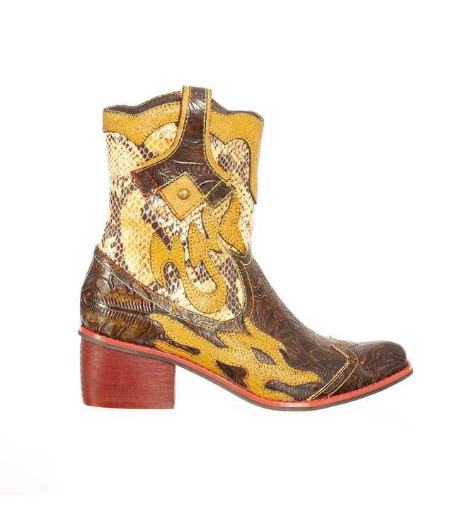 Laura Vita Laura Vita western boots bruin