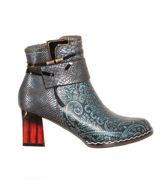 Laura Vita Laura Vita ankle boot blue leather