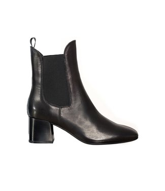 Unisa Unisa Mante black leather chelsea boots