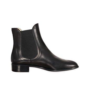 Unisa Unisa klassieke black leather chelsea boots