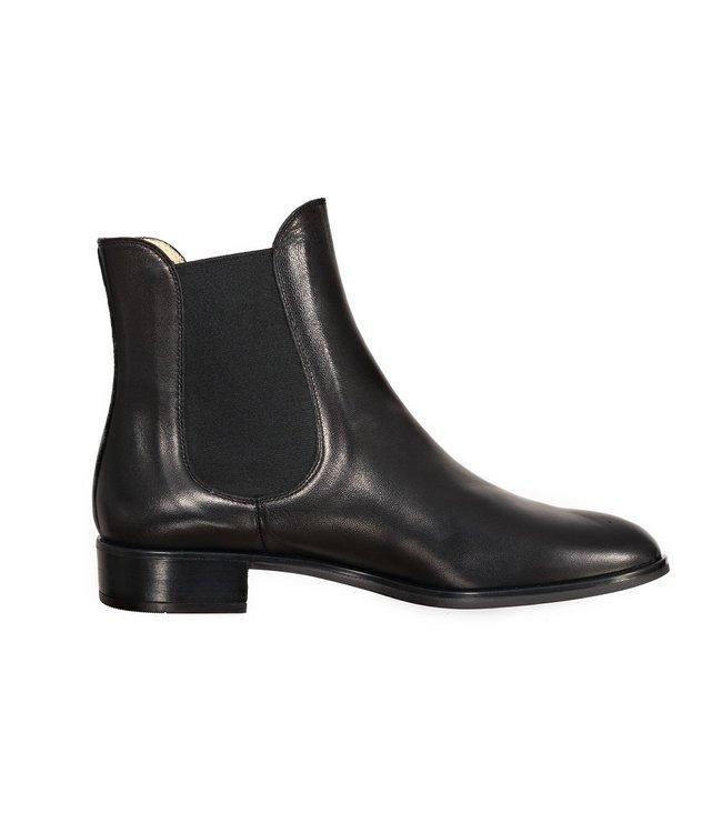 Unisa Unisa Boyer black leather chelsea boots