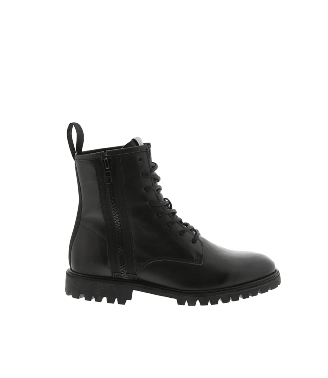 Blackstone Blackstone SL98 lace-up boots ladies black leather