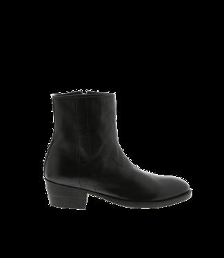Blackstone Blackstone SL09 cowboy boots ladies black leather