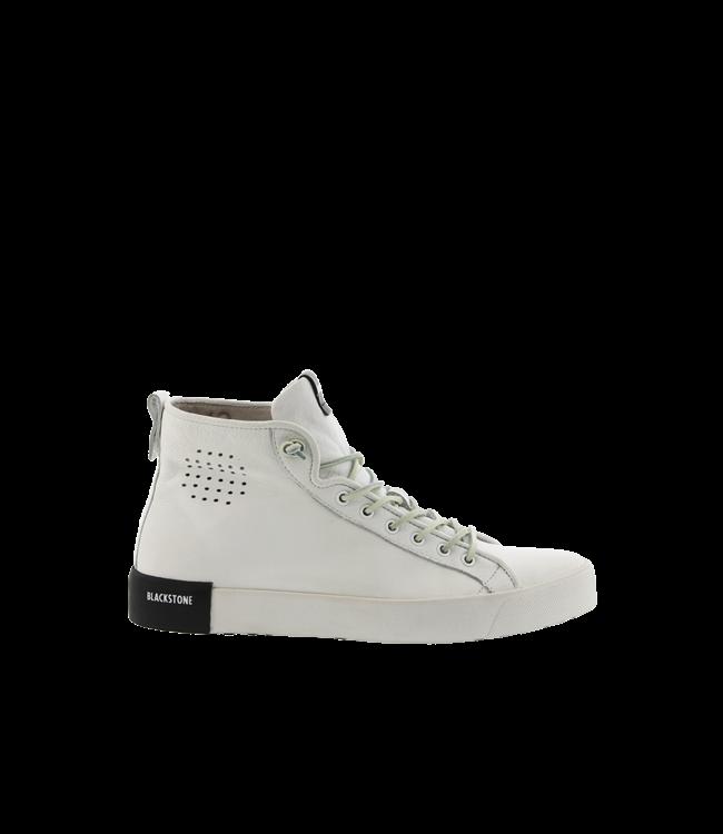 Blackstone Blackstone PL70 wit leer dames sneakers