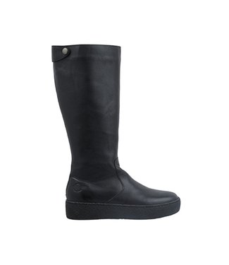 Ca Shott Ca Shott long boot ladies black leather