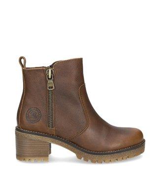 Panama Jack Panama Jack ladies zipper boot half high brown leather