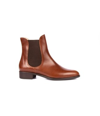 Unisa Unisa Boyer chelsea boots bruin leer