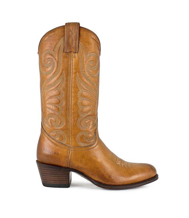 Sendra Sendra cowboy ladies boot cognac leather