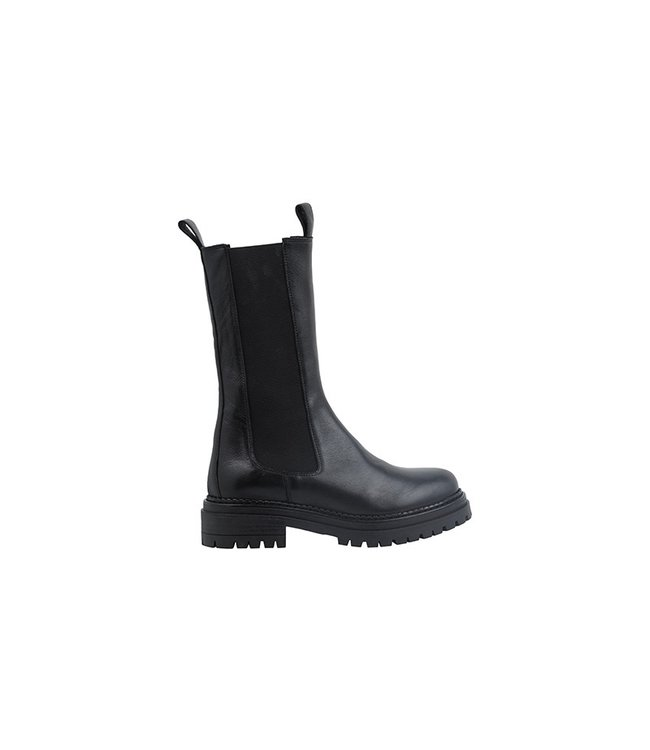 Ca Shott Ca Shott chelsea boots high ladies black leather