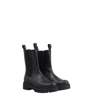 Ca Shott Ca Shott half high chelsea boots ladies black leather
