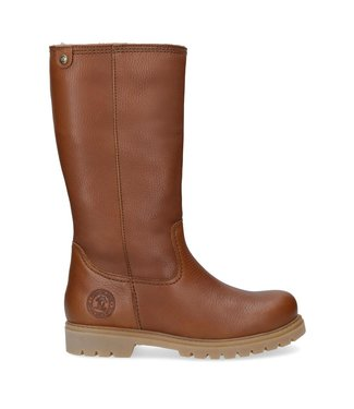 Panama Jack Panama Jack ladies boot cognac leather with sheepskin