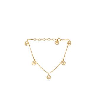 Pernille Corydon Pernille Corydon Mini Daylight armband goud verguld
