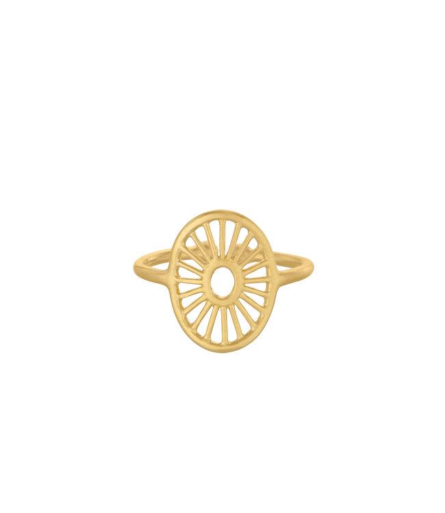 Pernille Corydon Pernille Corydon Small Daylight ring goud verguld
