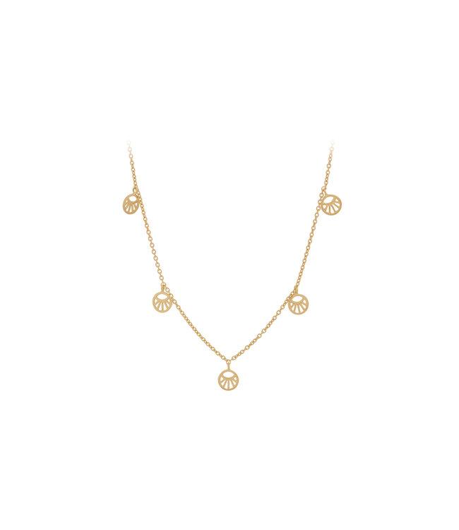 Pernille Corydon Pernille Corydon Mini Daylight Necklace gold plated